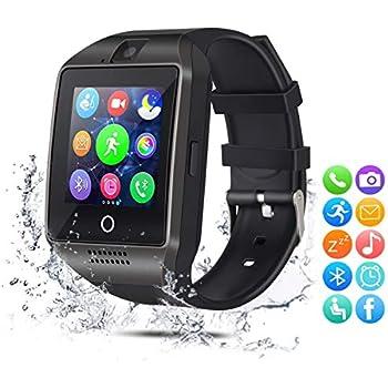 EUKK Smartwatch Reloj Inteligente (Negro A): Amazon.es: Electrónica