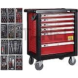Profesional herramienta de carro para herramientas, organizador, caja de herramientas con (345piezas profesional última edición, nuevo, alto rendimiento, calidad superior herramientas, herramienta pecho sobre ruedas, DIY Profesional