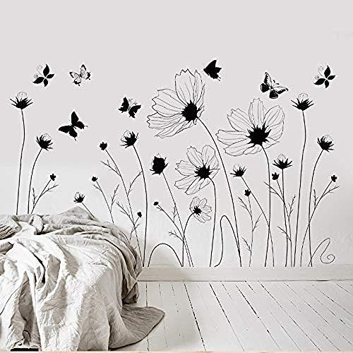 Wandaufkleber Wand-Aufkleber Fototapete Wandtattoo WanddekorationEinfache schwarz und weiß kreative persönlichkeit aufkleber schrank wohnzimmer 60 * 90 cm - Jalousie Weiss Vinyl