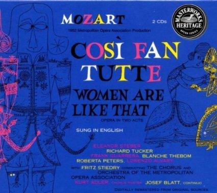 Mozart: Cosi Fan Tutte - 2CD BOX SET / ORIGINAL MASTERWORKS HERITAGE SERIES (Box-set-serie-cds)