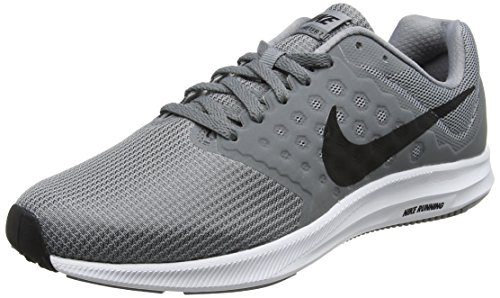 best service b4fb7 aee3d Nike Downshifter 7, Zapatillas de Running Hombre, Gris (Stealth black-cool