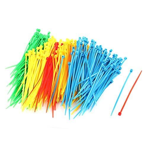 Deal Mux plastique Budget Accessoires selbsthe mmend 3 x 100 mm 500 serre-câbles assortis couleur