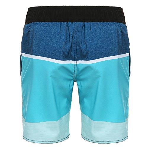 Rehall Herren Kolowah Swimshorts Blue Stripes