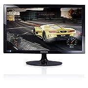 """PLS LCD 24"""" WIDE(16:9), Lumin. 250 cd/m2, Ingresso VGA e HDMI, Alimentatore esterno, Game Mode"""