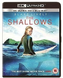 The Shallows [2 Disc 4K Ultra HD] [Blu-ray] [2016] [Region Free]
