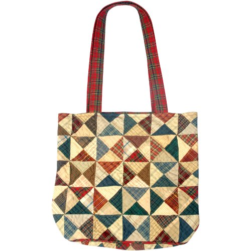 Borsa, Tartan - Patriotic (multicolore) - T_11 Home Spun Magic (Tea Dyed)