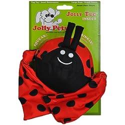 Jolly mascotas Tug Lady Bug Juguete Perro, 40cm