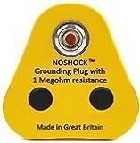 Anti Static ESD Grounding Plug, UK 1x10mm Stud