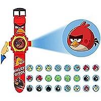 BACKGAMMON® Digital Toy Watch Wrist Projector Watch with Colorful Light 24 Images Projector Watch for Kids Best for…