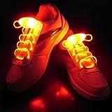 Fascigirl LED Schnürsenkel, 1 Paar Party Schnürsenkel im Dunkeln Leuchten Schuhe Schnürsenkel Cool Schuhe Krawatten für Erwachsene