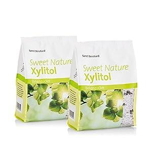 Sanct Bernhard Xylitol Birkenzucker Sweet Nature natürliche, pflanzliche Süße...