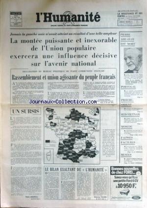FIGARO (LE) [No 9324] du 07/09/1974