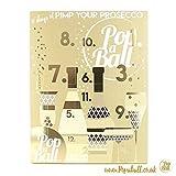 PopaBall calendario dell'avvento, 12giorni di prosecco, idea regalo