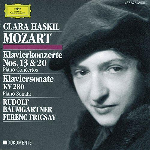 MOZART - Concertos pour piano 13 et 20 - Sonate pour piano KV280