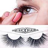 YanHoo 1 Paar Luxus 3D Falsche Wimpern Flauschigen Streifen Wimpern Lange Natürliche Partei Heiß Wimpern