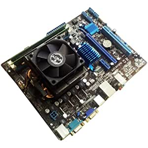 AMD Athlon II X2 250 3.0Ghz Dual Core - Asus M5A78L-M LX V2 DDR3 Micro ATX Motherboard - 4GB DDR3 - Bundle