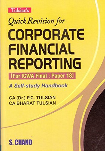 Tulsian's Quick Revision for Corporate Finanical Reporting for ICWA Final Paper - 18