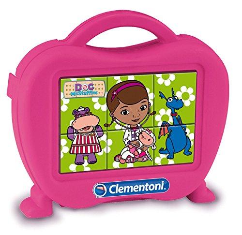 Clementoni 40651 - Doc McStuffins Baby Cubes, 6 Pezzi