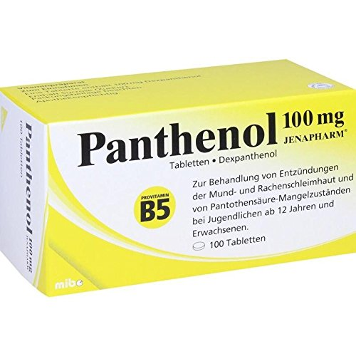 Panthenol 100 mg Jenapharm, 100 St. Tabletten -