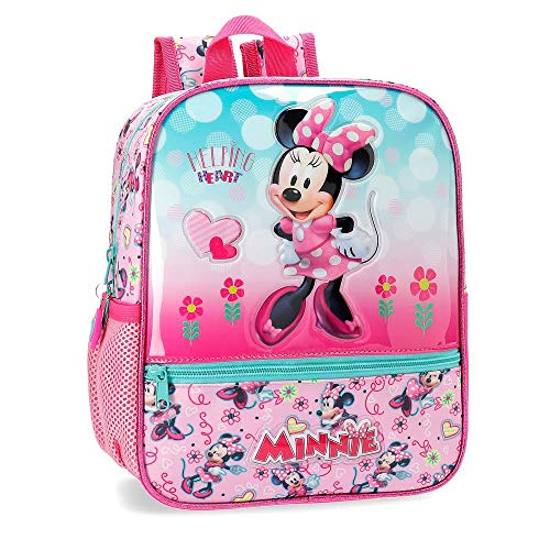 Disney Minnie Heart Zainetto per bambini 28 centimeters 6.44 Rosa