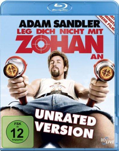 Leg dich nicht mit Zohan an (Unrated Version) [Blu-ray] Preisvergleich