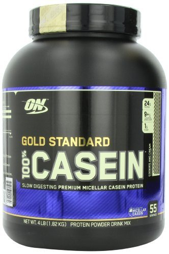 Optimum Nutrition 100% Casein Protein, Cookies and Cream, 4 Pound by Optimum Nutrition (English Manual)