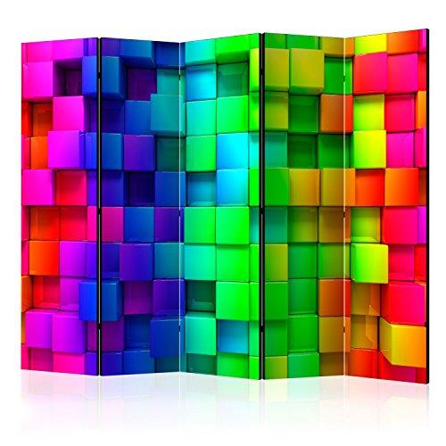 Murando Biombo Tablero Corcho 3D Optica 225x172 cm