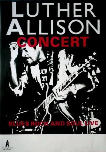 Allison, Luther–Tour Póster–Los Noventa–Tour Póster