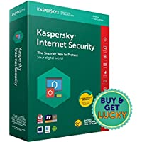 Kaspersky Internet Security 2018 - 3 PCs, 3 Years (CD) (Chance to win Rs.1000 Amazon Gift voucher)