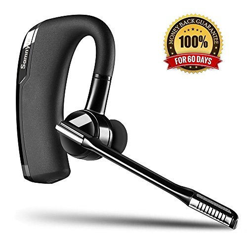 Bluetooth Headset 0,5oz In-Ear Business Büro Wireless Ohrhörer Handy Funk Sport Kopfhörer mit Mikrofon Freisprecheinrichtung Auto Surround Kabellos Headsets für iPhone Samsung Huawei Android Laptop