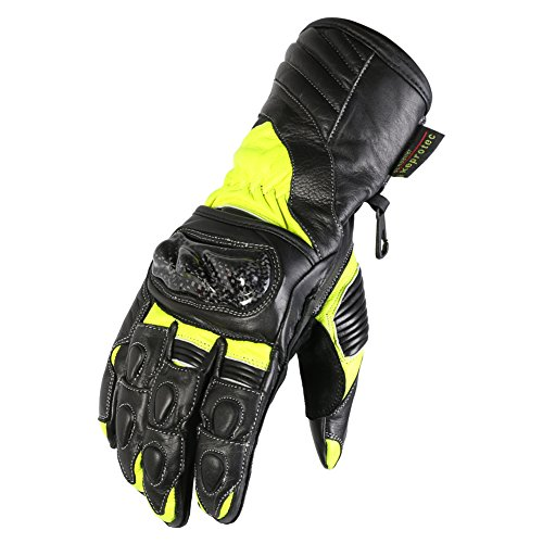 texpeed-black-hi-vis-leather-motorcycle-gloves-with-carbon-knuckles-sizes-s-2xl