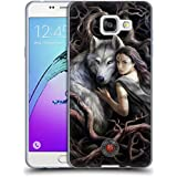 Official Anne Stokes Soul Bond Wolves 2 Soft Gel Case for Samsung Galaxy A5 (2016)