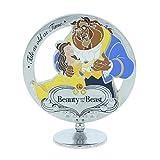 Disney verchromt freistehend Beauty und The Beast Geschenk Ornament