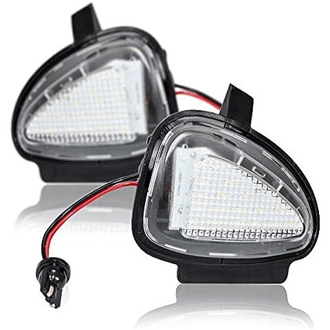 LED entorno iluminación Espejo Luz Ambiental VW Seat Plug & Play Certificado E