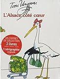 L'Alsace côté coeur - Coffret en 3 volumes français, anglais, allemand
