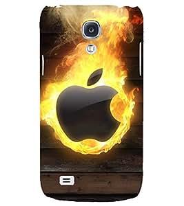 PRINTSHOPPII APPLE FIRE LOGO Back Case Cover for Samsung Galaxy S4::Samsung Galaxy S4 i9500
