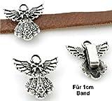 Motiv für Namenshalsband - Schutzengel - Für 1,0cm Bandbreite geeignet