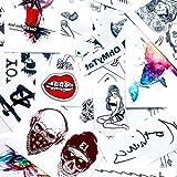 Símbolo OM etiqueta engomada falso temporal del tatuaje (Juego de 2) - www.ohmytat.com