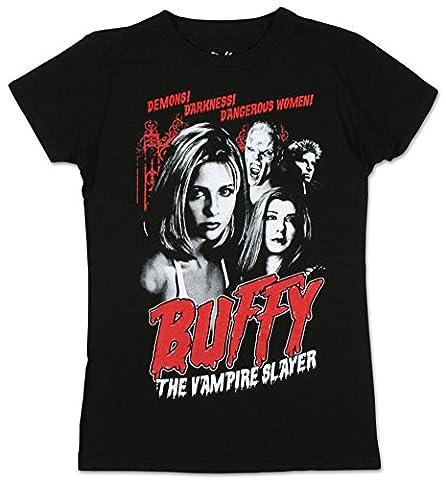Old Glory - T-shirt - Manches Courtes - Femme Noir Noir - Noir - X-Large