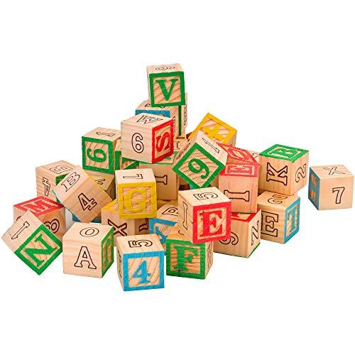 Legnoland 37725Spalier-Würfel mit Buchstaben Zahlen und Symbole (Holz-würfel-turm)