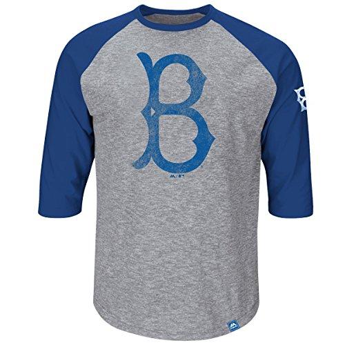 MLB Baseball BROOKLYN DODGERS Shirt 3/4 sleeves Home Stretch in M (MEDIUM) -