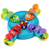 Fun Eltern Kind-Interaktion Füttern Froggies Schöne Frosch Tischspiele Lernspielzeug für Kinder Kinder