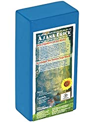 Yogaklotz / Yoga Block high density, 22 x 11 x 6, 6 cm Schadstoffgeprüft - recycelbar - abwaschbar Material: EVA-Schaum (Ethylene-Vinyl-Acetat)