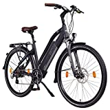 NCM Milano 26' / 28' Zoll Damen & Herren Urban E-Bike Elektrofahrrad Pedelec mit 48V 250W Das-Kit Heckmotor und einem 48V 13Ah 624Wh Li-Ion Zellen Akku