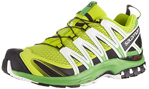 75467bfdd9a3d Salomon XA Pro 3D, Zapatillas de Trail Running para Hombre, Verde (Lime  Punch