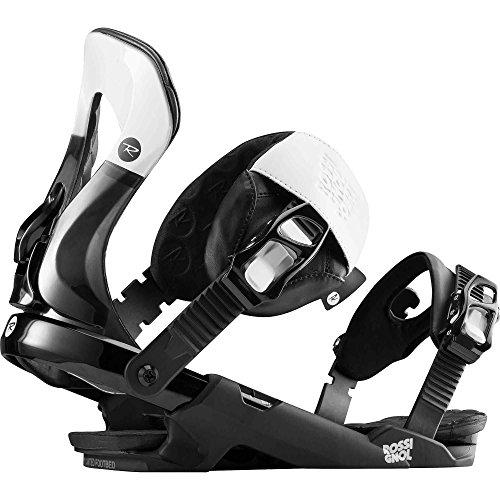 Rossignol Cobra schwarz Snowboard-Bindungen Herren, weiß/schwarz