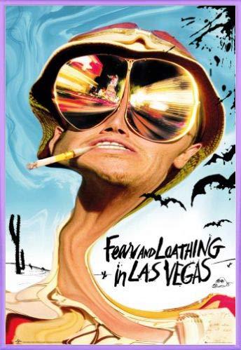 1art1 Angst Und Schrecken In Las Vegas Poster und Kunststoff-Rahmen - Key Art (91 x 61cm)