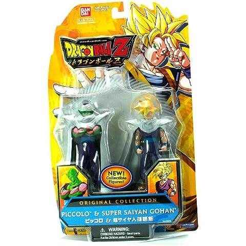 Bola de Dragón Z pack de 2 Figuras Original Colección Piccolo/Gohan Supersaiyajin 95012