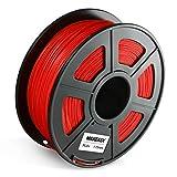 Filament PETG TPU ABS 1.75mm, 3D-Druckmaterialien filament 1.75, 3D Drucker Filament PETG TPU ABS 1.75mm (Rote, PLA+)