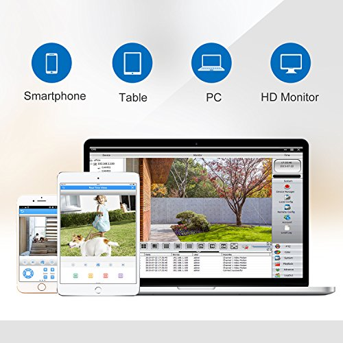 SANNCE-1080P-4CH-DVR-sistema-de-vigilancia-grabador-de-Video-DigitalOnvif-H264-P2P-Seguridad-CCTV-Deteccin-de-Movimiento-Soporta-Plug-y-Play-AndroidiOS-APP-1TB-Disco-duro-de-vigilancia